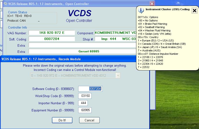 VAG-COM? [Archive] - VW GTI Forum / VW Rabbit Forum / VW R32 Forum
