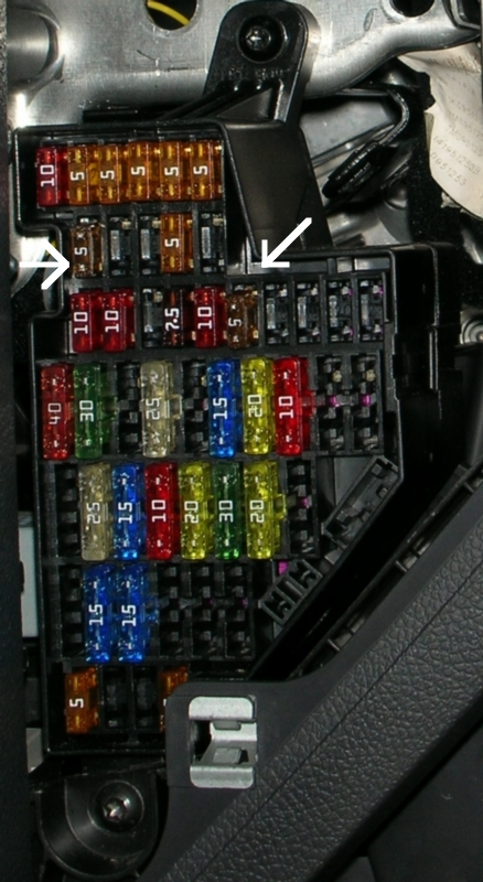 adding a 5a power circuit to fuse box c vw gti forum vw rabbit complete two new circuits added