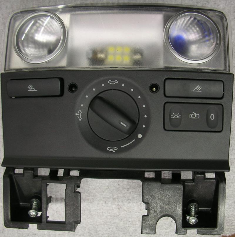 2006 MKV GTI Overhead Console