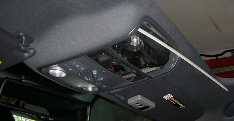 Service manual [Removing Headliner On A 2011 Audi S6 ...